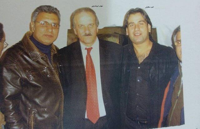 امیر سعدونی متهم به بمبگذاری و مهدی ابرشمچی مرد شماره 2 سازمان مجاهدین خلق ایران